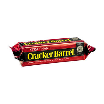 Cracker Barrel Natural Extra Sharp Cheddar Cheese