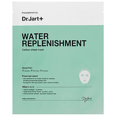 Dr. Jart+ Water Replenishment Cotton Sheet Mask