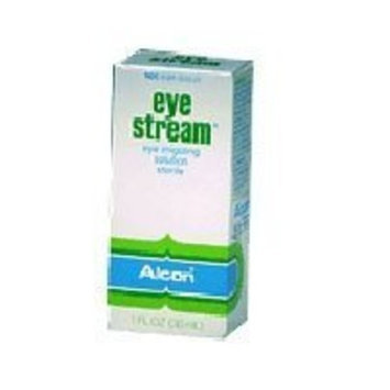Alcon eye stream irrigating eye rinse solution - 1 oz