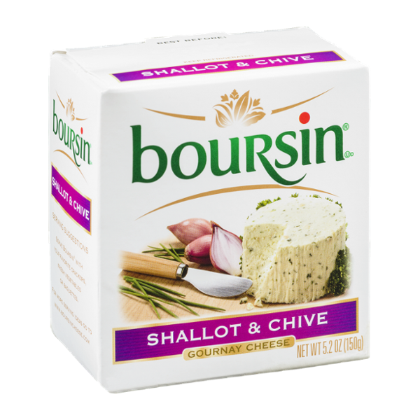 Boursin Gournay Cheese Shallot & Chive