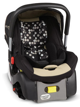 The First Years Contigo I480 Infant Car Seat - Black/Khaki