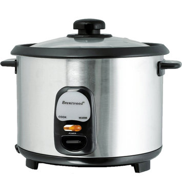 Brentwood Appliances Brentwood TS-10 5 Cup Rice Cooker - Stainless Steel