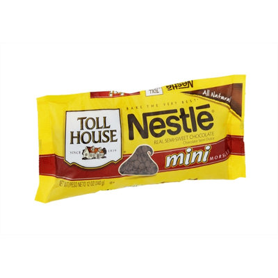 Nestlé Toll House All Natural Semi-Sweet Chocolate Mini Morsels
