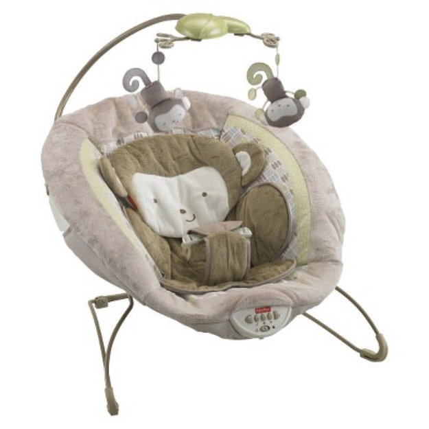 Fisher Price My Little Snugamonkey Special Edition Deluxe Bouncer