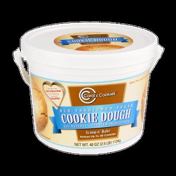 Carol's Cookies Scoop 'n Bake Cookie Dough Old-Fashioned Sugar All Natural