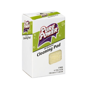 Pure Power Cleaning Pad - 3 CT