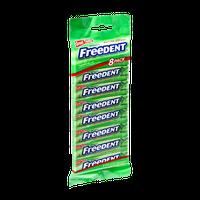 Wrigley's Freedent Peppermint Gum- 8 PK