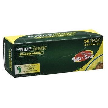 Pridegreen Biodegradable Zip-N-Seal Food Storage Bags