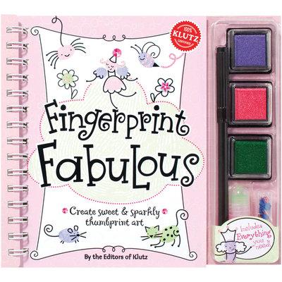 Klutz Fingerprint Fabulous Book Kit