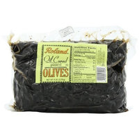 Roland Oil-Cured Pitted Olives, 5-Pounds Bag