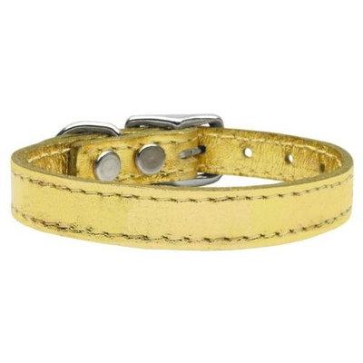 Ahi Plain Metallic Leather Gold 22