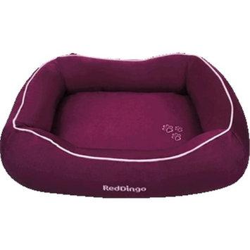 Red Dingo DN-MF-PU-LG Bed Donut Purple Large
