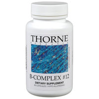THORNE RESEARCH - B-Complex #12 60 VegiCaps Health and Beauty