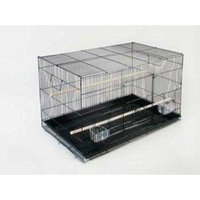 Prevue Pet Products BPVF061 Parakeet Flight Cage, 24-Inch, White/Black