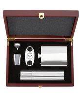 Gorham Barware, That's Entertainment 5 Piece Flask & Cigar Set