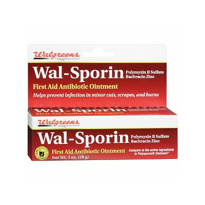Walgreens Wal-Sporin First Aid Antibiotic Ointment