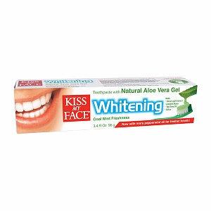 Kiss My Face Aloe Vera Whitening Toothpaste Gel