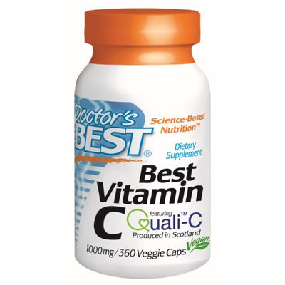 Doctor's Best - Best Vitamin C 1000 mg. - 360 Vegetarian Capsules