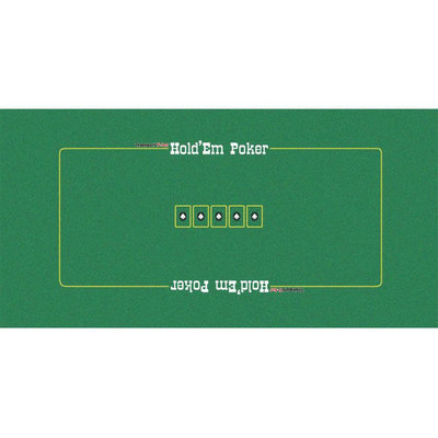 Trademark Global Games Trademark Global 36 x72 Texas Holdem Layout