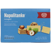 Kras Napolitanke Nougat (Nougat Wafers), 11.64-Ounce Packages (Pack of 12)