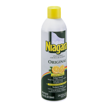 Niagara Spray Starch Aerosol Original Lemon