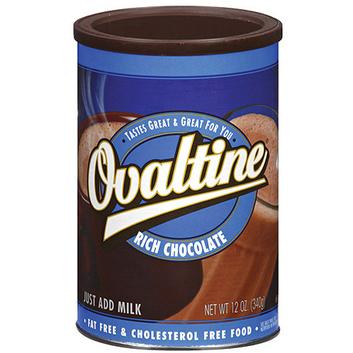Ovaltine Rich Chocolate Flavored Milk Additive