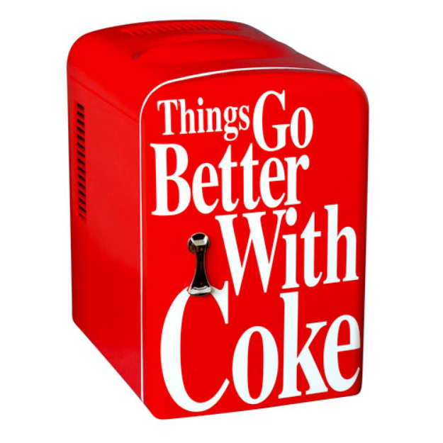 Koolatron Coca-Cola Personal Fridge
