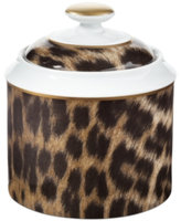 Ralph Lauren Hutchinson Leopard Sugar Bowl