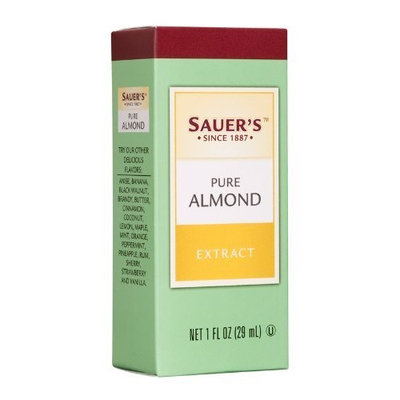 Sauer's Almond, Pure, 1-Ounce Bottles (Pack of 6)
