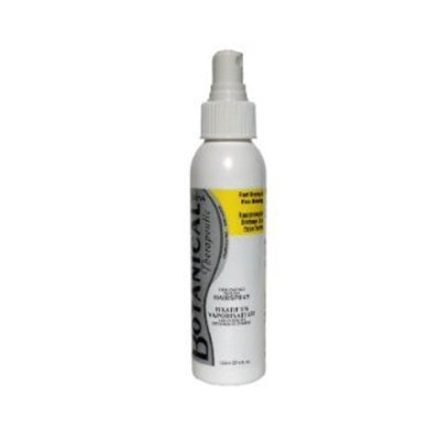 Hair Spray -Unscented (120mL) Brand: Botanical Therapeutic
