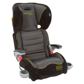 The First Years B540 Booster Car Seat - Abstract O's - Blue/Green