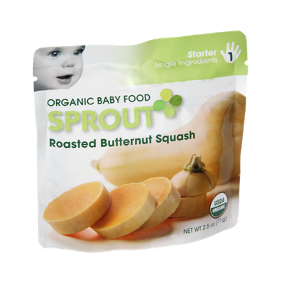 Sprout Starter Roasted Butternut Squash Organic Baby Food