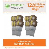 Crucial Vacuum 12 Eureka AS Bags, Part # 66655, 68155-6, 68155, 67726