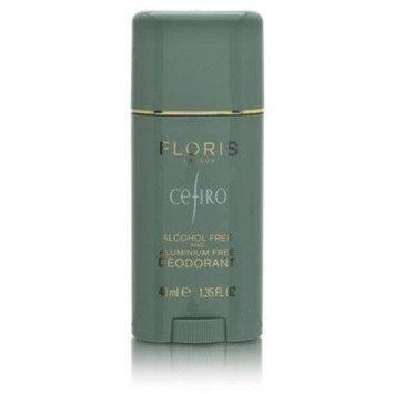 Floris Cefiro by Floris London 1.35 oz Alcohol Free and Aluminum Free Deodorant