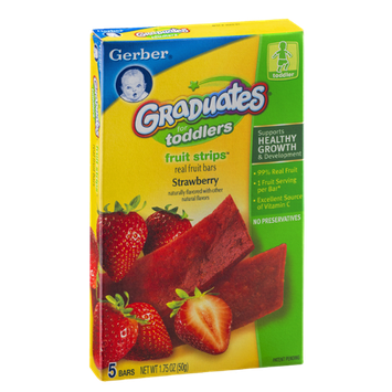 Gerber® Graduates for Toddlers Fruit Strips Strawberry