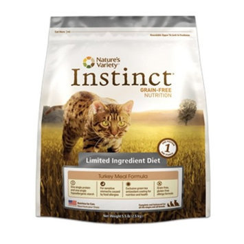 Instinct Grain Free Instinct Grain-Free Limited Ingredient Diet Turkey Meal Dry Cat Food, 5.5 lb bag