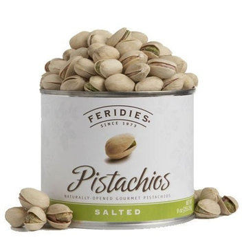 Feridies 9 oz Can Salted Pistachios