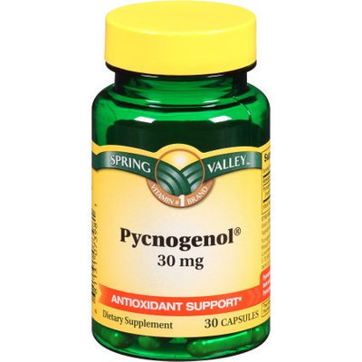 Wal-mart Stores, Inc. Spring Valley Pycnogenol Dietary Supplement Capsules, 30mg, 30 count