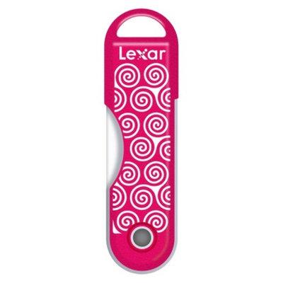 Lexar 32GB Swirls USB Flash Drive - Pink (JDTTS32BTR)