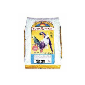 Sunseed Sunscription Sunseed Parrot Economy Mix 25 pound