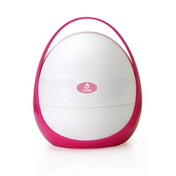 Lil' Jumbl Travel Potty - Perfect for Parents On the Go! - Pink