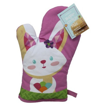 Maud Borup Inc Easter Bunny Oven Mitt with Sugar Cookie Mix 12 oz
