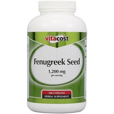 Vitacost Brand Vitacost Fenugreek Seed -- 1200 mg per serving - 360 Capsules