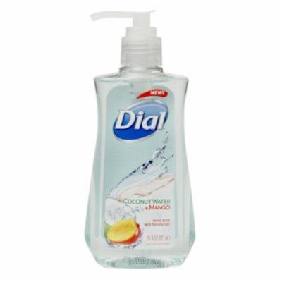 Dial Liquid Hand Soap, Coconut Water & Mango, 7.5 fl oz