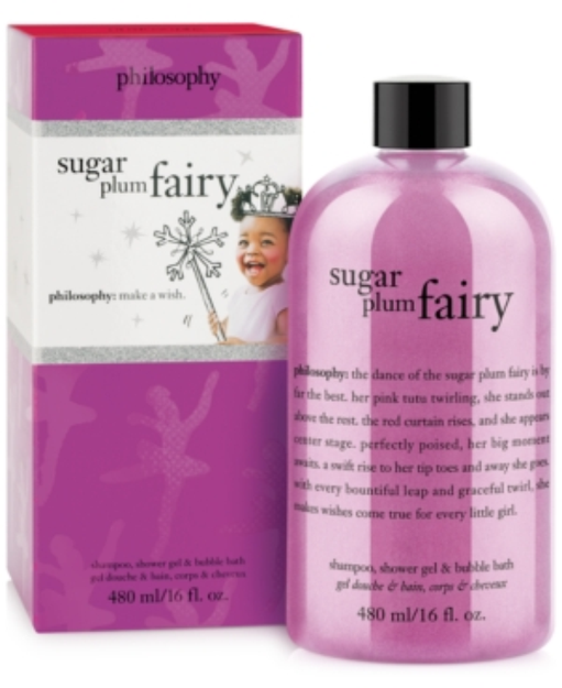 philosophy sugar plum fairy shower gel, 16 fl oz