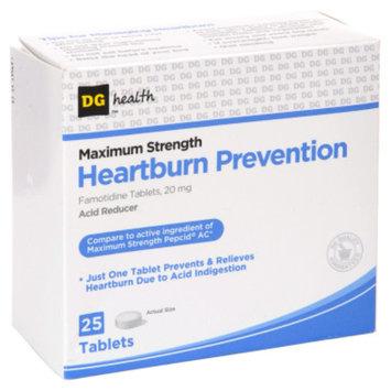 DG Health Heartburn Prevention Tablets - 25 ct
