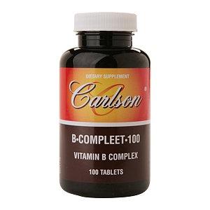 Carlson B-Compleet 100 Vitamin B Complex