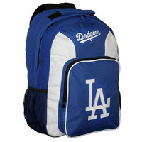 Concept One MLB Los Angeles Dodgers Team Color Backpack - School Supplies