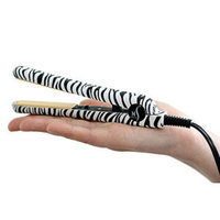 HerStyler Mini Zebra Ceramic Hair Straightener
