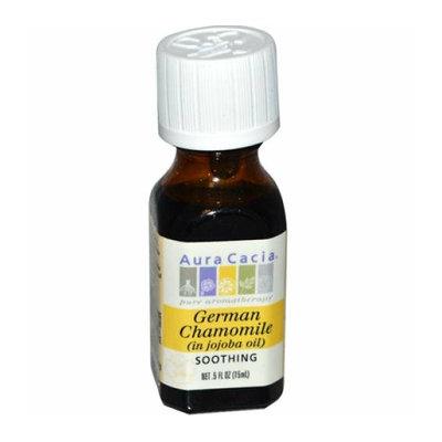 Aura Cacia German Chamomile in Jojoba Oil 0.5 fl oz